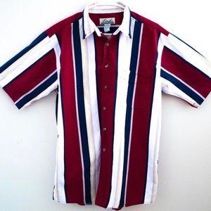 Vintage short sleeve button up shirt